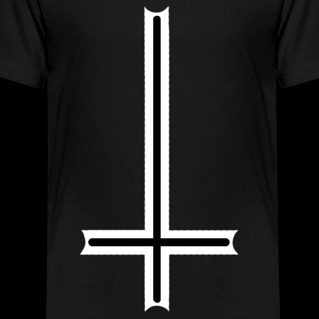 Tasse mit umgedrehten Kreuz