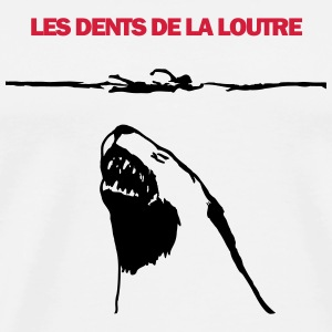 Les dents de la loutre coque rigide iPhone 4/4S - T-shirt Premium Homme