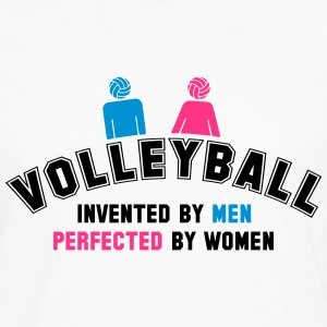 Volleyball: invented by men, perfected by women T-Shirts - Men's Premium Longsleeve Shirt