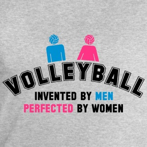 Volleyball: invented by men, perfected by women Tee shirts - Sweat-shirt Homme Stanley & Stella