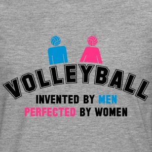 Volleyball: invented by men, perfected by women Tee shirts - T-shirt manches longues Premium Homme
