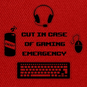 Cut in Case of Gaming I T-Shirts - Snapback Cap