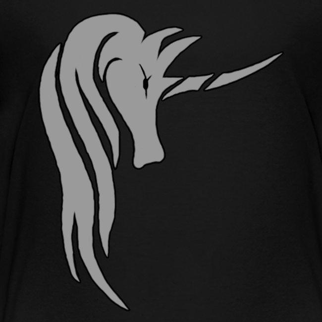 Tasse Unicorn in grau
