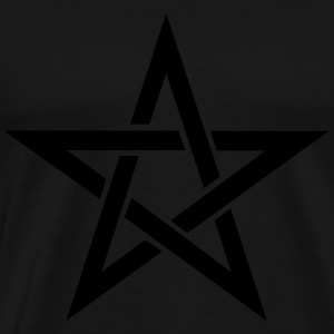 Pentagram  Aprons - Men's Premium T-Shirt