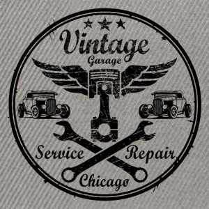 vintage repair service 02 Sweat-shirts - Casquette snapback