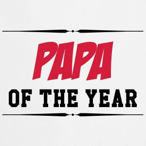 Papa of the year T-Shirts - Cooking Apron