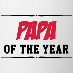 Papa of the year T-Shirts - Tasse