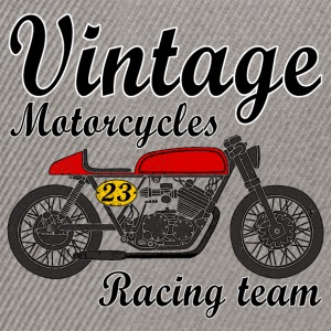 motorcycles vintage team Sweat-shirts - Casquette snapback