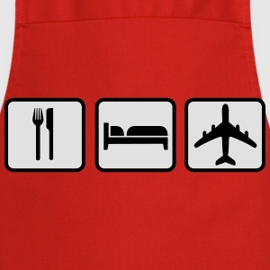 Eat Sleep Fly T-Shirts - Cooking Apron