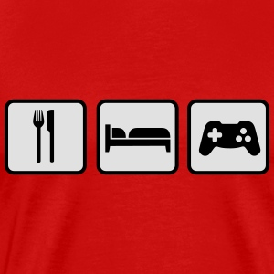 Eat Sleep Game Tops - Men's Premium T-Shirt