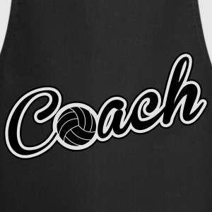 Volleyball Coach Tee shirts - Tablier de cuisine