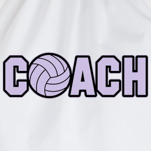Volleyball Coach Tank Tops - Turnbeutel