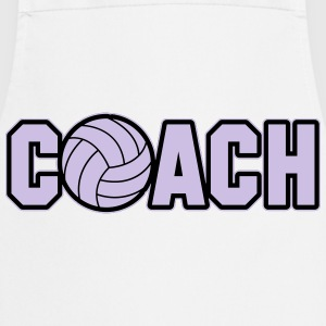 Volleyball Coach Long sleeve shirts - Cooking Apron