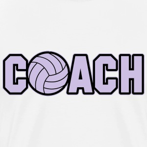 Volleyball Coach Manches longues - T-shirt Premium Homme