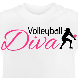 Volleyball Diva T-shirts - Baby T-shirt
