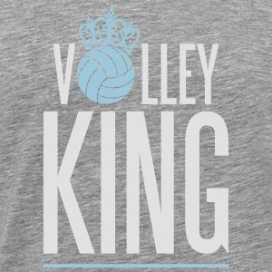 Volleyball King Débardeurs - T-shirt Premium Homme
