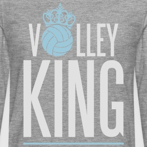 Volleyball King Tee shirts - T-shirt manches longues Premium Homme