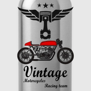motorcycles vintage team 02 Sweat-shirts - Gourde