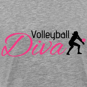 Volleyball Diva Sweat-shirts - T-shirt Premium Homme