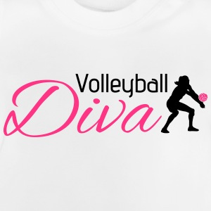 Volleyball Diva Long Sleeve Shirts - Baby T-Shirt