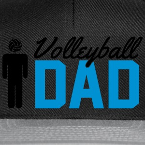 Volleyball Dad Magliette - Snapback Cap