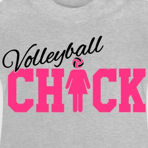 Volleyball Chick Tee shirts - T-shirt Bébé