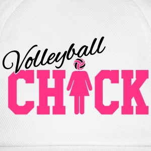 Volleyball Chick Camisetas - Gorra béisbol