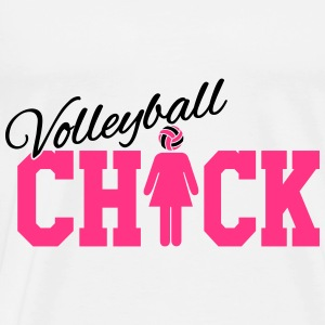 Volleyball Chick Débardeurs - T-shirt Premium Homme
