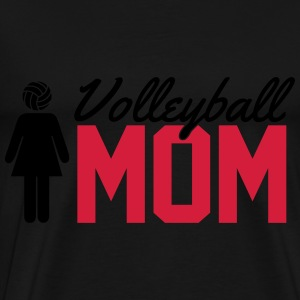 Volleyball Mom Tops - Men's Premium T-Shirt