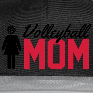 Volleyball Mom Sudaderas - Gorra Snapback