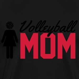 Volleyball Mom Manches longues - T-shirt Premium Homme