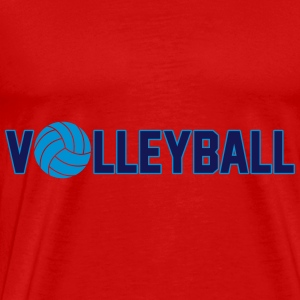 Volleyball Tops - Männer Premium T-Shirt