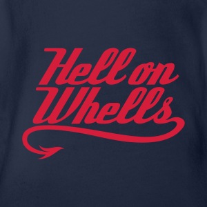 Hell on Wheels 1c T-Shirts - Baby Bio-Kurzarm-Body