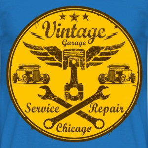 vintage repair service 03 Sweat-shirts - T-shirt Homme