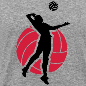 Volleyball Design Long Sleeve Shirts - Men's Premium T-Shirt