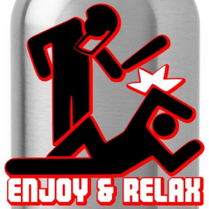 ENJOY AND RELAX T-Shirts - Trinkflasche