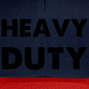 Heavy Duty Sweaters - Snapback cap