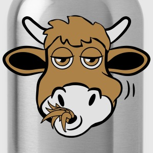 Eat cow funny animal T-Shirts - Water Bottle