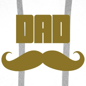 Dad Kopper & flasker - Premium hettegenser for menn