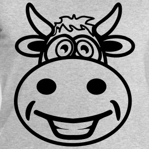 Cow funny cute T-Shirts - Men's Sweatshirt by Stanley & Stella