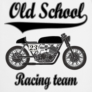 Old school motorcycles vintage team Long sleeve shirts - Cooking Apron