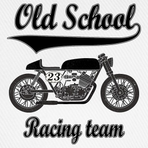 Old school motorcycles vintage team Long sleeve shirts - Baseball Cap