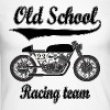 Old school motorcycles vintage team Long sleeve shirts - Men's Long Sleeve Baseball T-Shirt