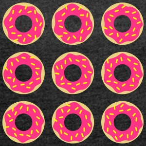 donuts Bags & Backpacks - Women's T-shirt with rolled up sleeves