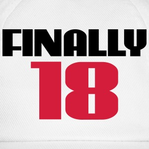 Finally 18 Flessen & bekers - Baseballcap