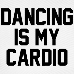 Dancing is my cardio T-skjorter - Baseballcap