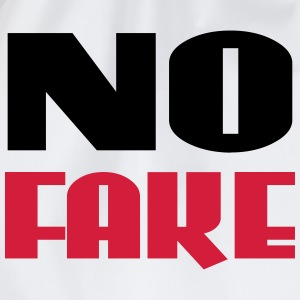 No Fake T-Shirts - Turnbeutel