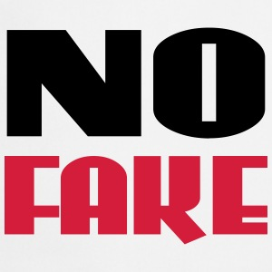 No Fake Tee shirts - Tablier de cuisine