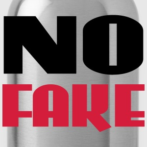 No Fake T-shirts - Drinkfles