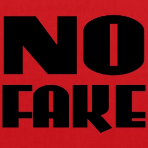 No Fake T-Shirts - Tote Bag